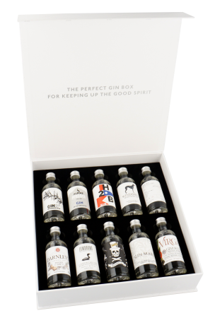 The Gin Box Edition 2 – World Gin Tour 10 x 50ml
